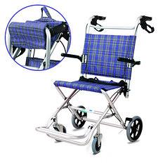 Aluminum Light Foldable Folding Wheelchair Disable Elderly People Wheel Chair (1052618) #Banggood