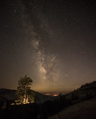 Stars, Olmsted Point, Yosemite National Park