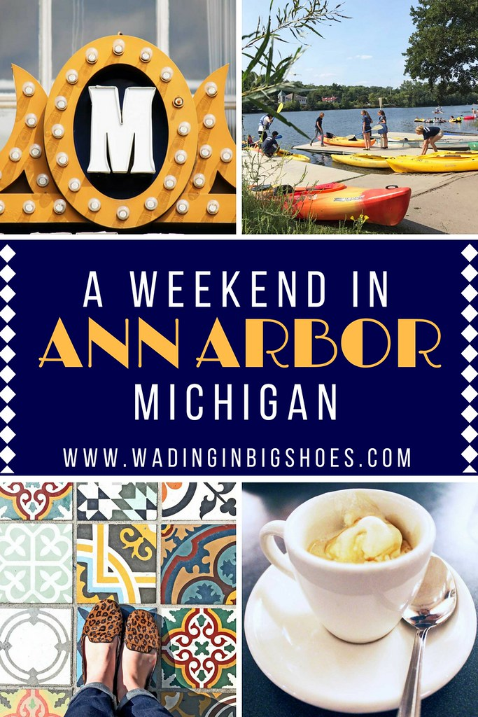 Why Every Metro Detroiter Should Be Visiting Ann Arbor - An hour or less away from most metro Detroit locations, Ann Arbor is more than just a college town. Food, shopping, art, nature, and more make up this uniquely diverse city! (via Wading in Big Shoes)