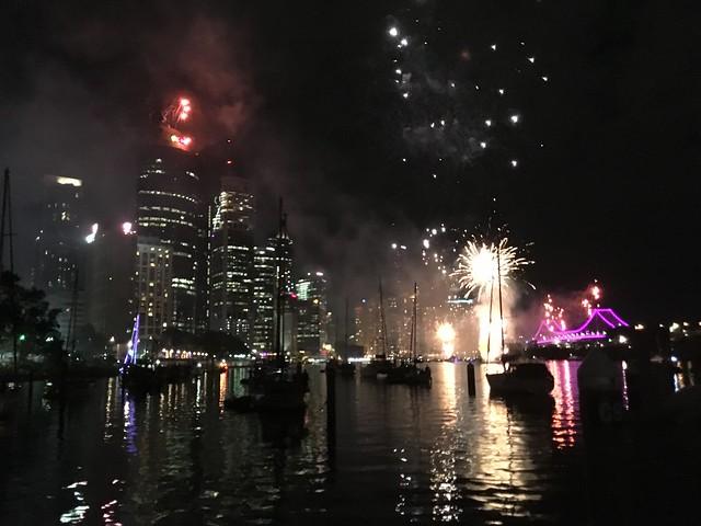 RiverFire. Brisbane.
