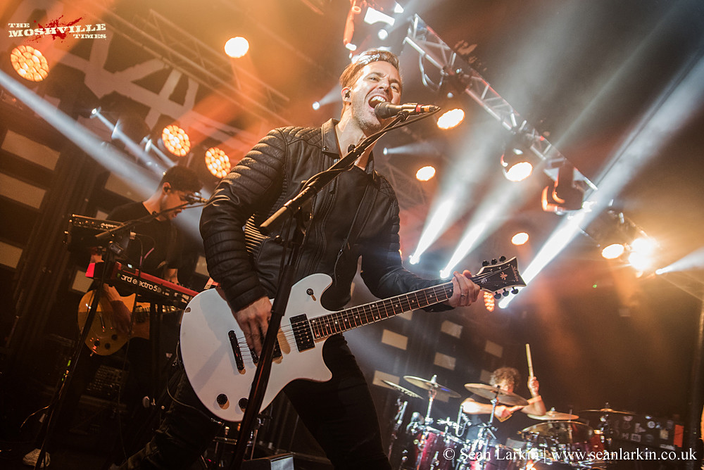 Papa Roach Ho99o9 O2 Academy Glasgow 7th October 2017 The