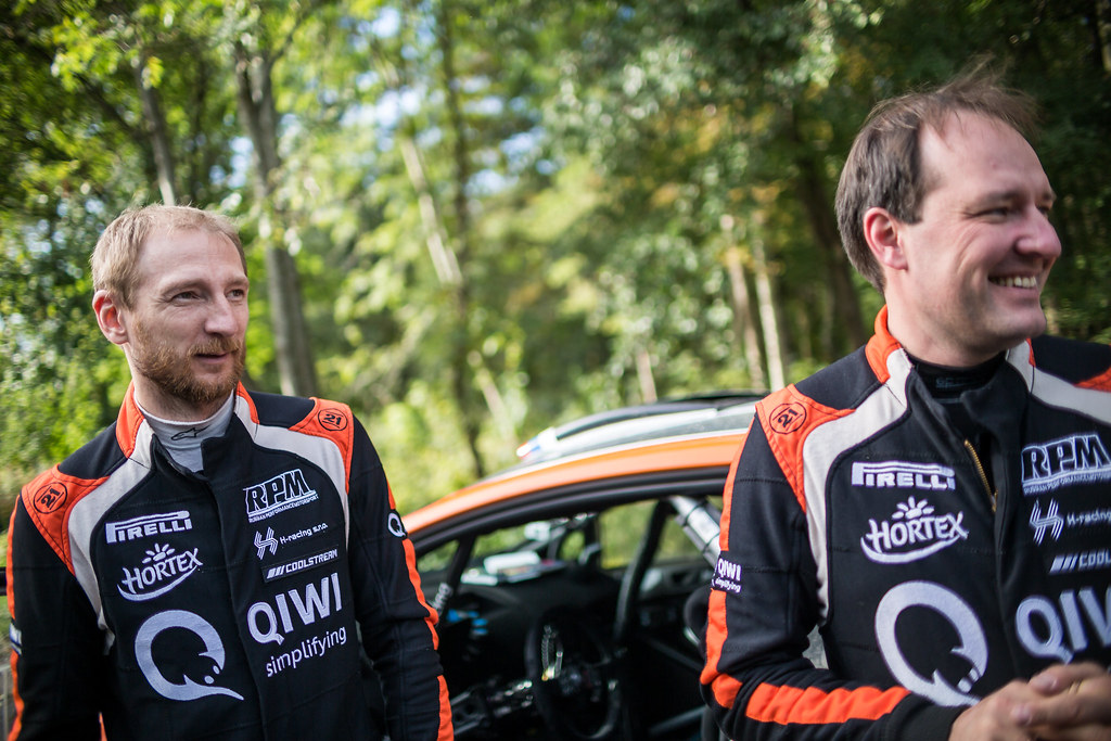 Lukyanuk Alexey and Arnautov Alexey, Russian Performance Motorsport, Ford Fiesta R5 ambiance portrait during the 2017 European Rally Championship ERC Liepaja rally,  from october 6 to 8, at Liepaja, Lettonie - Photo Thomas Fenetre / DPPI