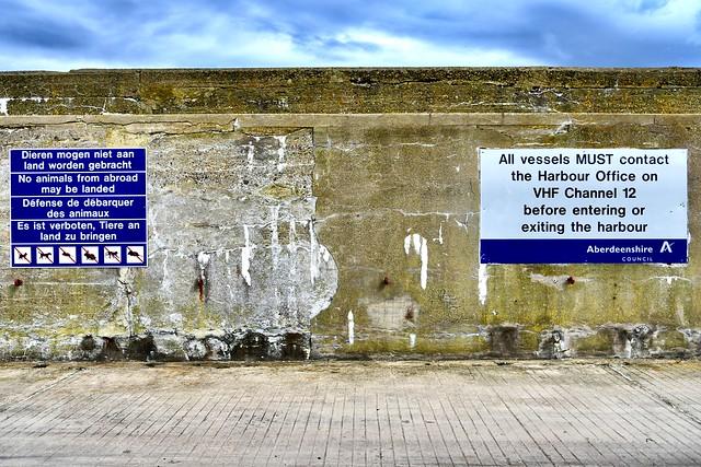 MacDuff Harbour Scotland  2017