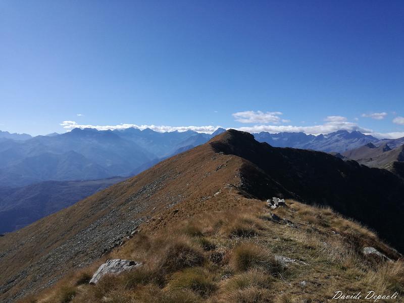 Monte Vaccarezza 2203 m - Cima dell'Angiolino 2168 m - Rifugio Peretti Griva 1810 m