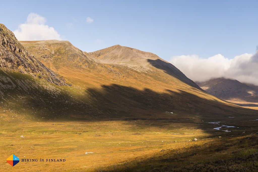Sunshine at Corrour Bothy