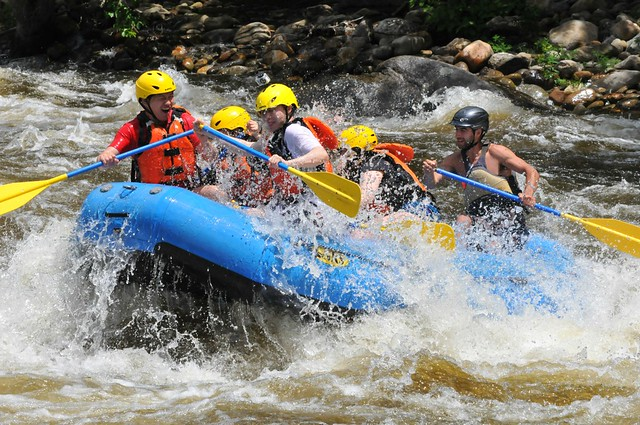 Rafting and Rapids
