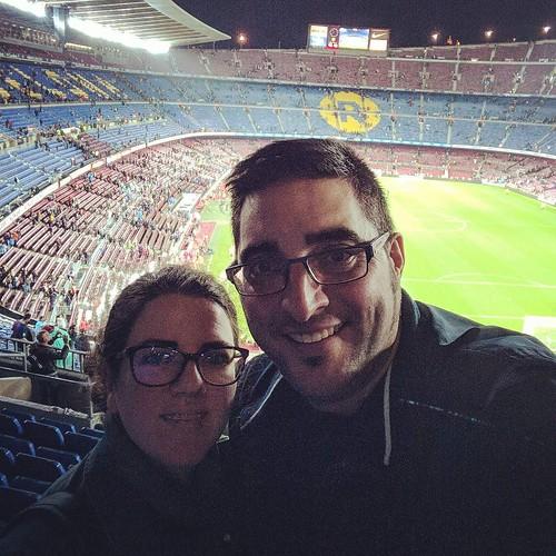 Camp Nou partido FC Barcelona - Sevilla FC