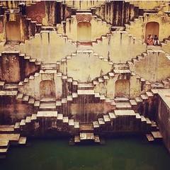 Stepwells, Abhaneri, Rajasthan .