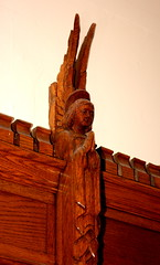 Cathedral of the Holy Cross Angel Carving