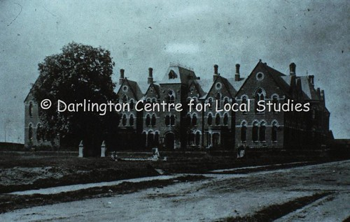 Darlington Training College - before Stanhope Park was created. Date unknown