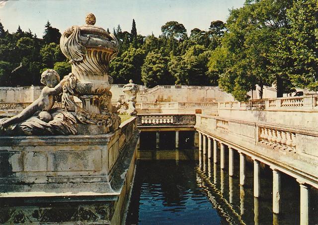 Le Nymphée, jardin de la fontaine, Nîmes