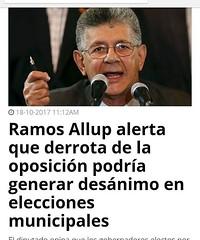 regram @noticiasdevenezuela Después que el CNE se burlo del pueblo venezolano nuevamente, quien coño de la madre va a seguir votando con estos dictadores ! Por tu culpa se cayó la calle ! #Nomejodas via Globovision en su portal web..TOTALMENTE DE ACUERDO,