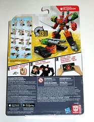 transformers robots in disguise 2015 bludgeon warrior class combiner force hasbro 2017 mosc b