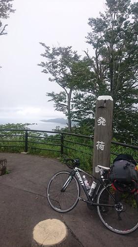 結構展望あってgoodな峠。この日は休養日っていったのに130km2000upくらいさせてすまんなって感じ(笑)