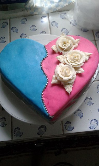 Vegi Cake with Butter Cream Icing by Jenny Danpaul