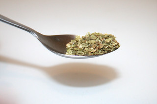 09 - Zutat Oregano / Ingredient oregano