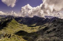 Dalla Rotwand verso l'Austria.