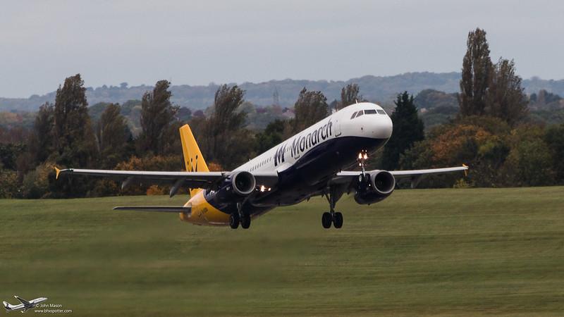 G-OZBU A321 MONARCH