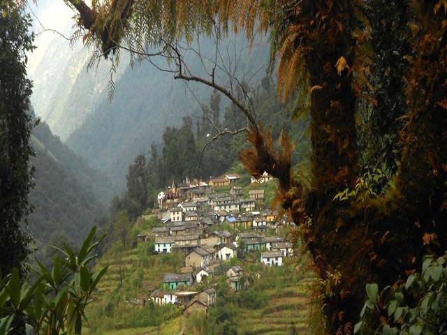 बागेश्वर जिले का खाती गाँव