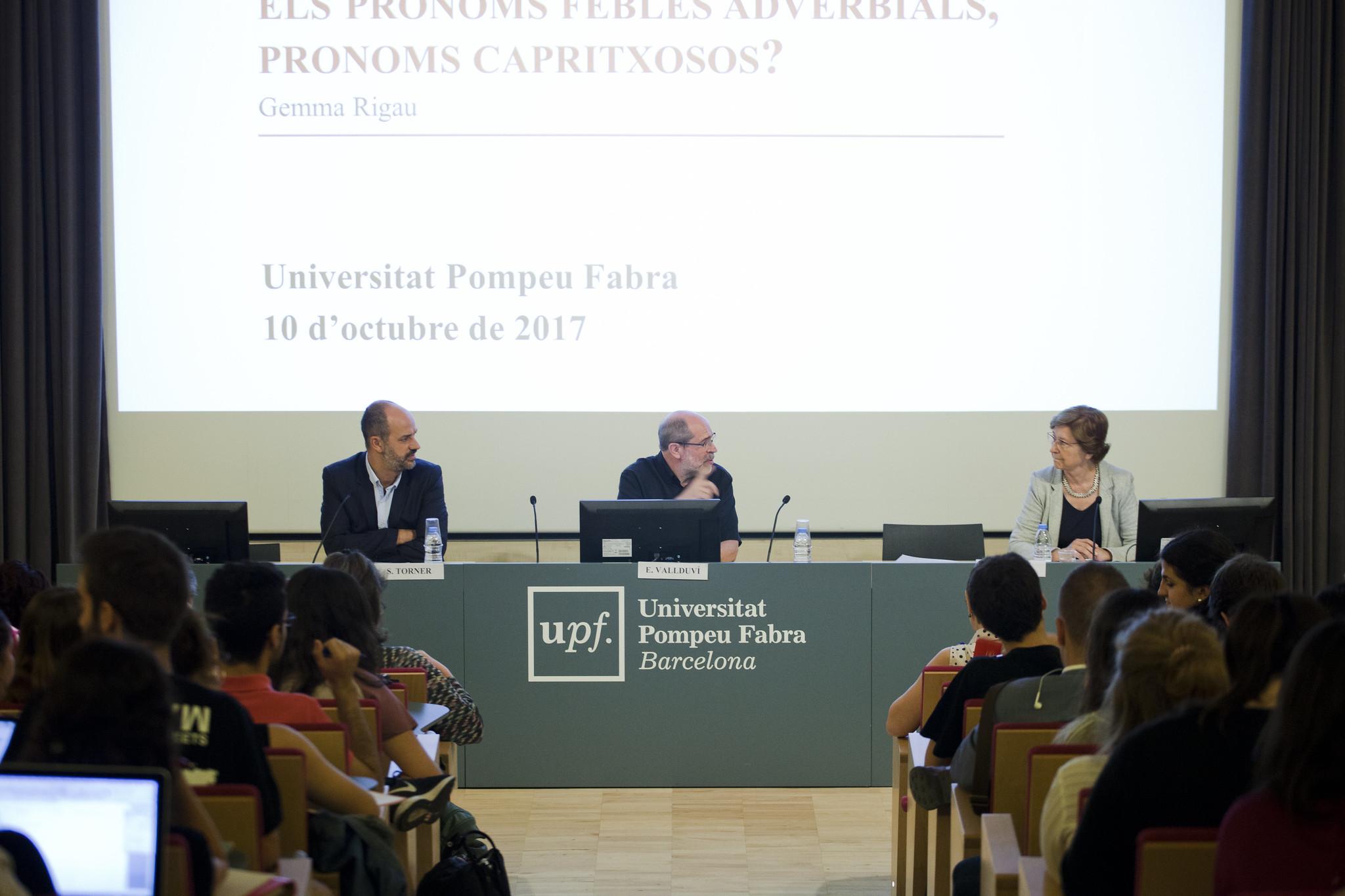Lliçó inaugural del curs 2017-2018 de la Facultat de Traducció i Interpretació