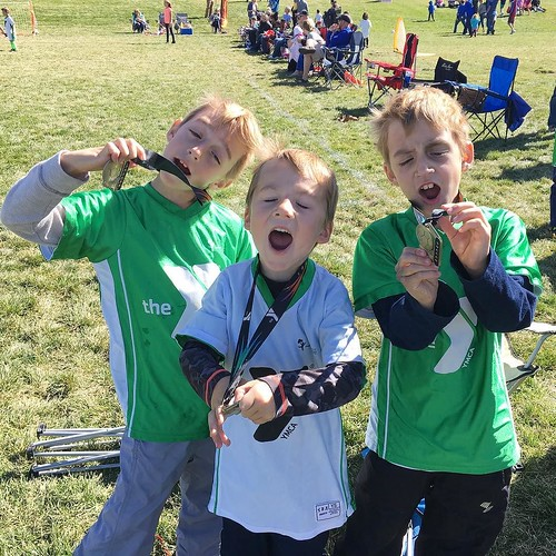 Their teams may not have scored any goals all season until the last two games, but they always had fun, post-game snacks, and a post-season medallion. That's winning.