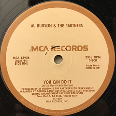 AL HUDSON & THE PARTNERS:YOU CAN DO IT(LABEL SIDE-A)