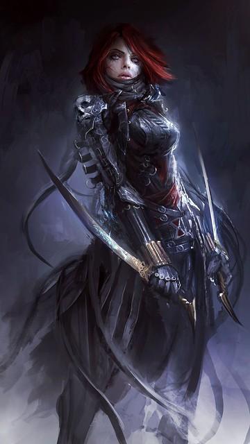 Dark fantasy desktop background wallpaper nr12