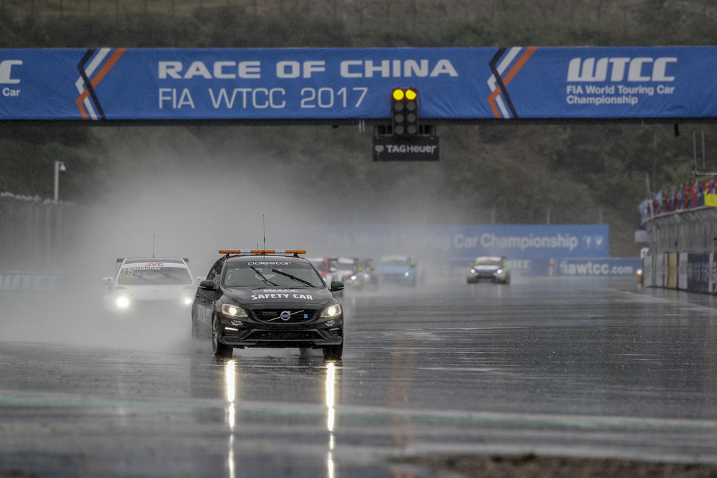 voiture de securite safety car  during the 2017 FIA WTCC World Touring Car Championship at Ningbo, China, October 13 to 15 - Photo Frederic Le Floc'h / DPPI