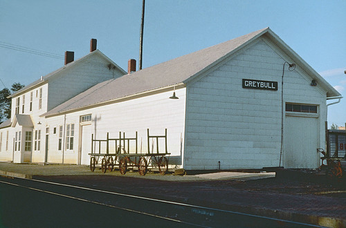 CB&Q Depot at Greybull, Wyoming