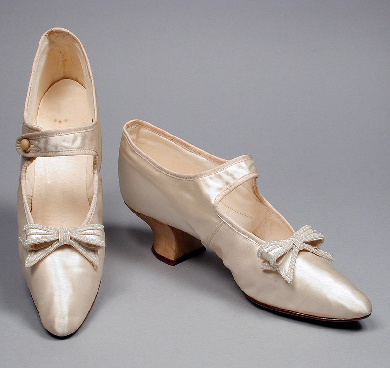 Woman's Bar Shoes, 1898