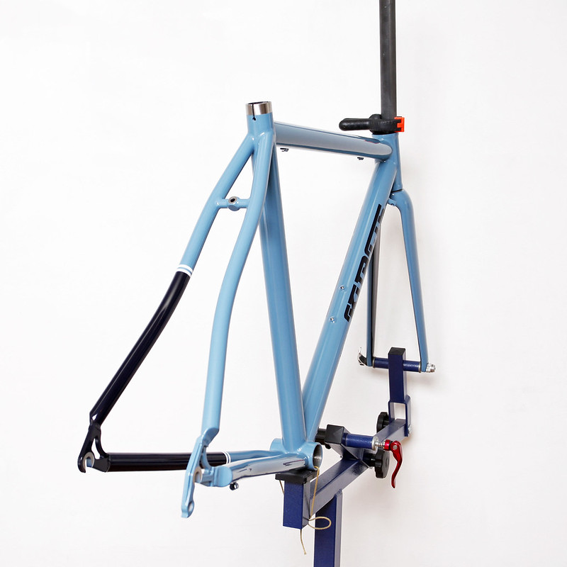 Kualis Cycles Titanium Frame & Parlee Fork Painted by Swamp Things.