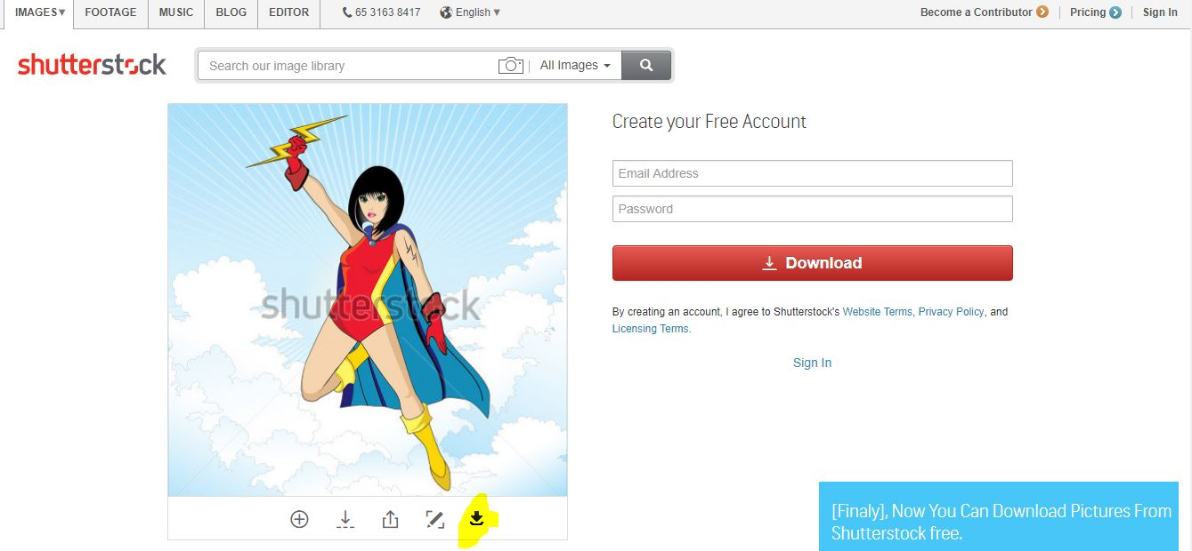 download shutterstock images for free