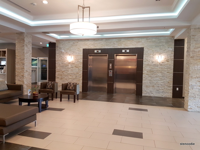 Holiday Inn Express & Suites Oshawa Downtown lobby