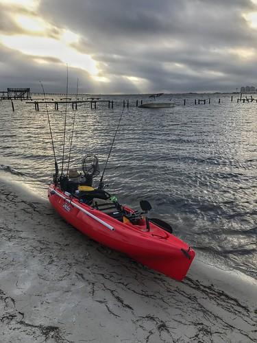 pensacola kayakfishing fishing kayak outback hobie beach navarre