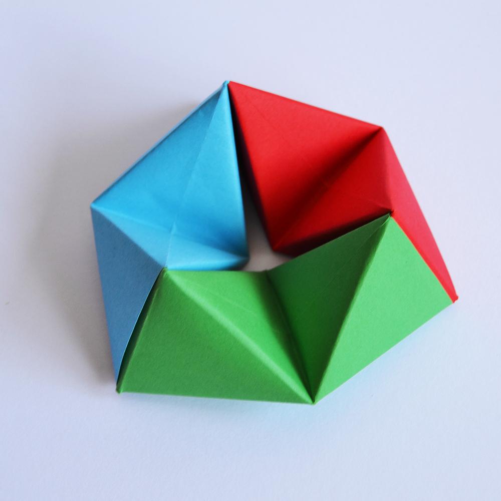 249 - Rotating Tetrahedron