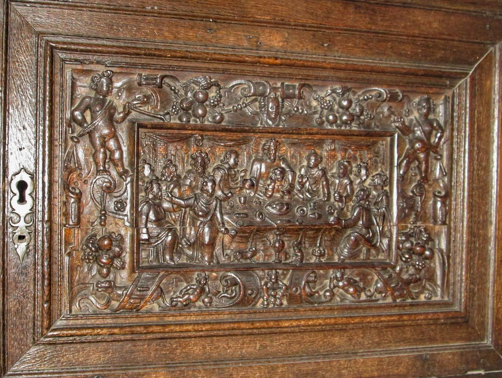 Bunratty Castle Wood Panel