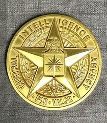 CIA Star For Valor Medal obverse