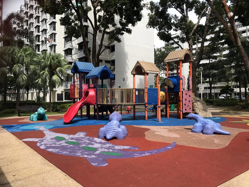 Playgrounds galore in the neighbourhood