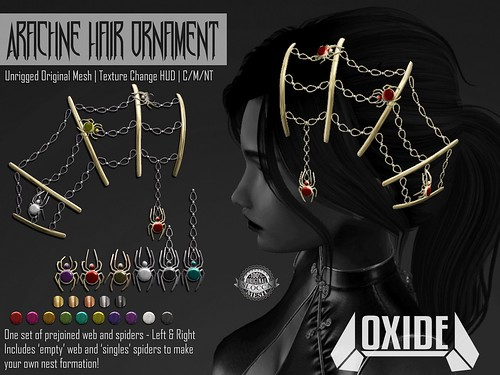 OXIDE Arachne Hair Ornament