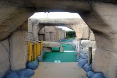 Through the caves