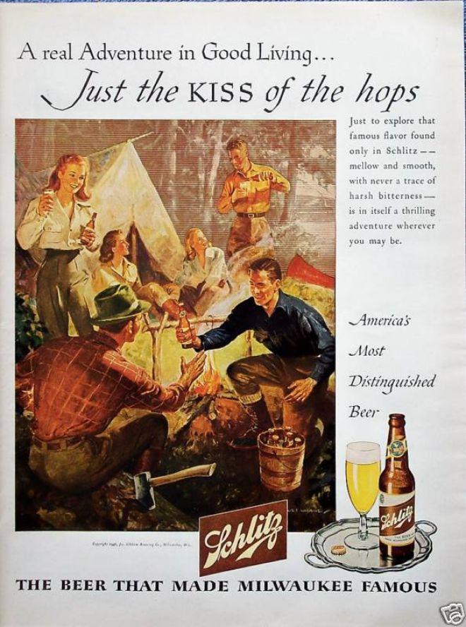 Schlitz-1950s-camping