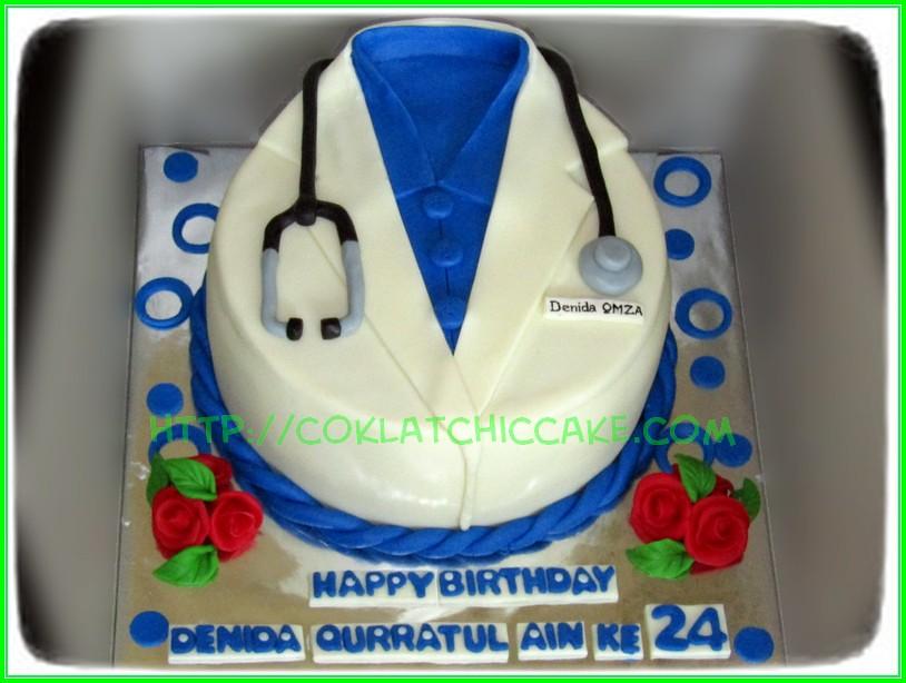 Cake Baju Dokter - DENIDA