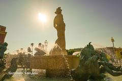 .:La Fuente de Plaza Massena (Niza):.