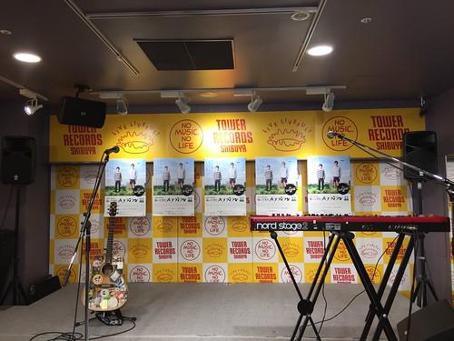 タワーレコード渋谷店 帰ってきたホフディラン ミニライブ