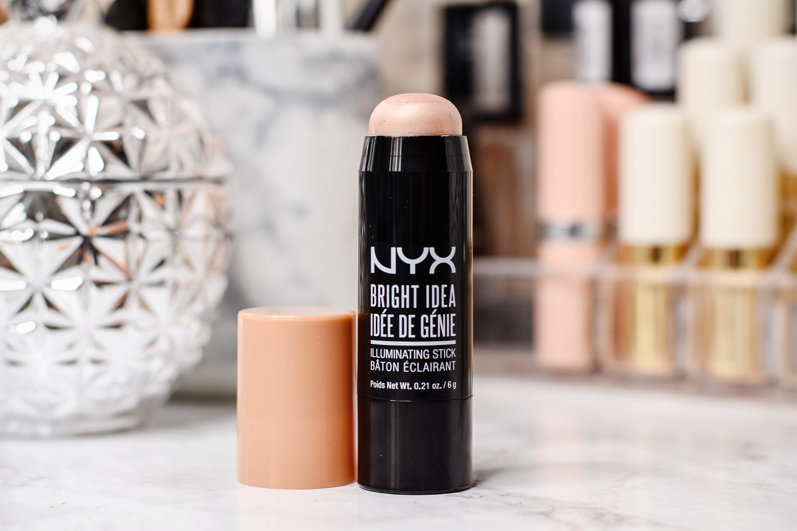 NYX Bright Idea Illuminating Stick in shade Chardonnay Shimmer review