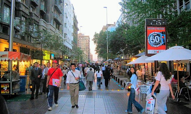 Santiago Brazil Barcelona Bangkok