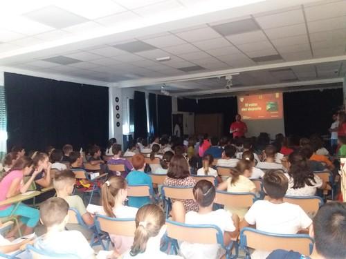Colegio Maestro Enrique Díaz Ferreras formación con el Sevilla F.C.
