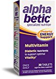 #healthyliving alpha betic Once-Daily Multi-Vitamin Supplement, 30 Tablets