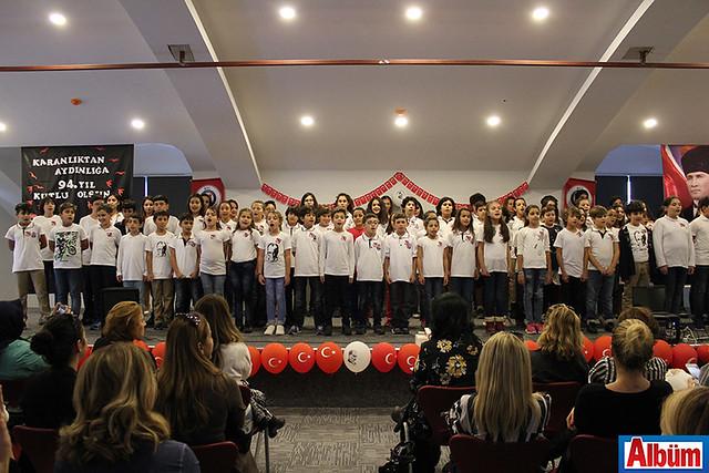 Alanya Bil Okulları 29 Ekim kutlama