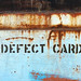 defect card por ikarusmedia